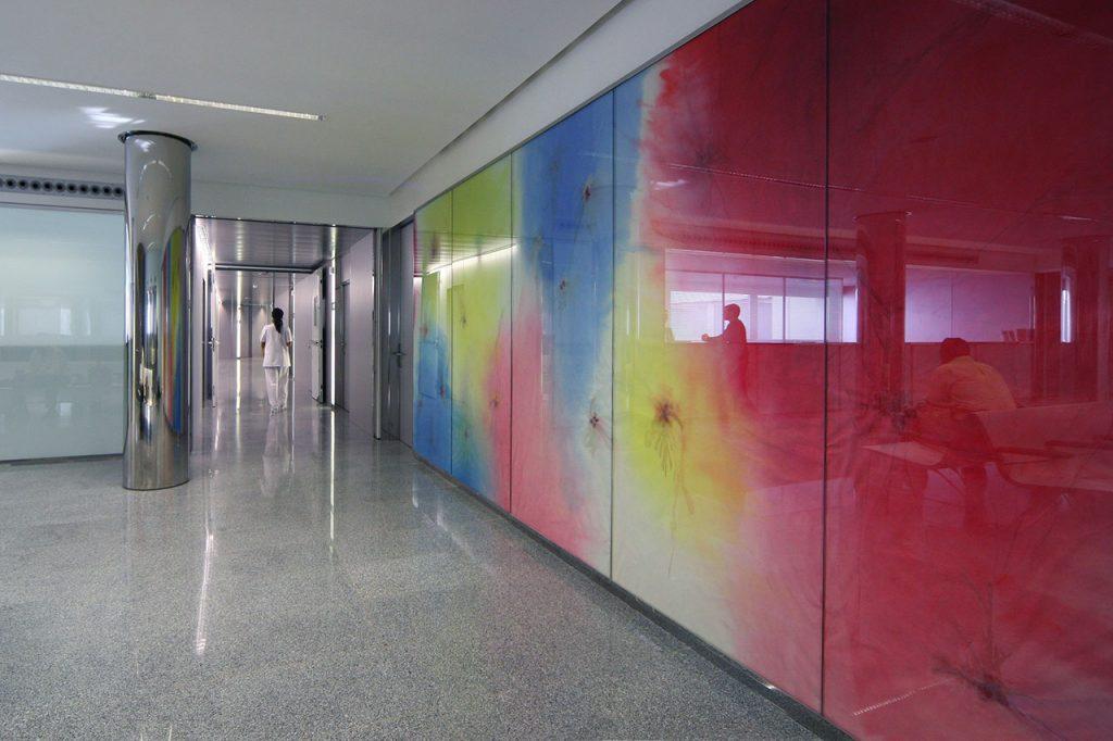 Mural-Clínica-Rotger-Hospital-Mallorca-Quinta-Planta