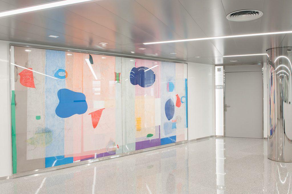 Mural-José María Sicila-Clínica-Rotger-Hospital-Mallorca