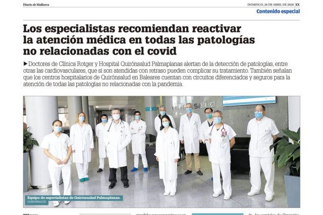 Atención Médica: DM-Activación-Asistencia-Sanitaria-Clínica-Rotger-Hospital-Quirónsalud-Palmaplanas