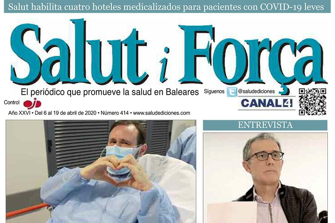 Resumen Quironsalud-Salut-i-Forca-Baleares-Acciones Quirónsalud Baleares Frente al Coronavirus