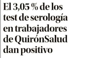 DM - Estudio Seroprevalencia Quironsalud en Baleares