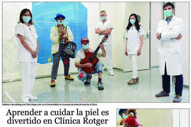 Clinica-Rotger-Hospital-Mallorca-Reportaje-Dermatología-Pediátrica-Sonrisa-Medica