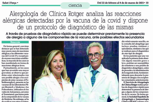 Alergología-de-Clínica Rotger-Analiza-Vacunas-COVID