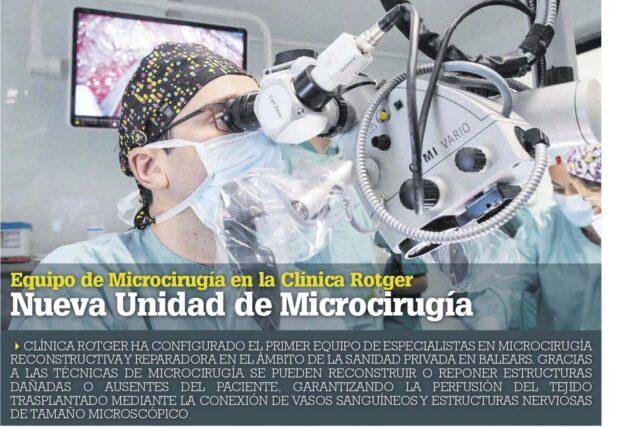 Nueva Unidad de Microcirugía