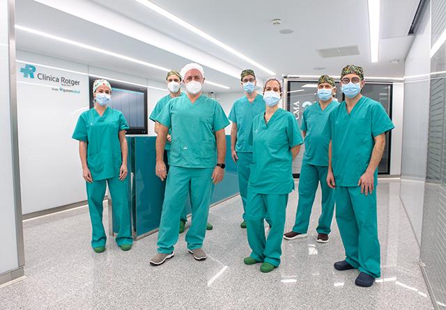 Equipo-Unidad-Microcirugía-Reconstructiva-Clínica Rotger-Hospital-Mallorca.